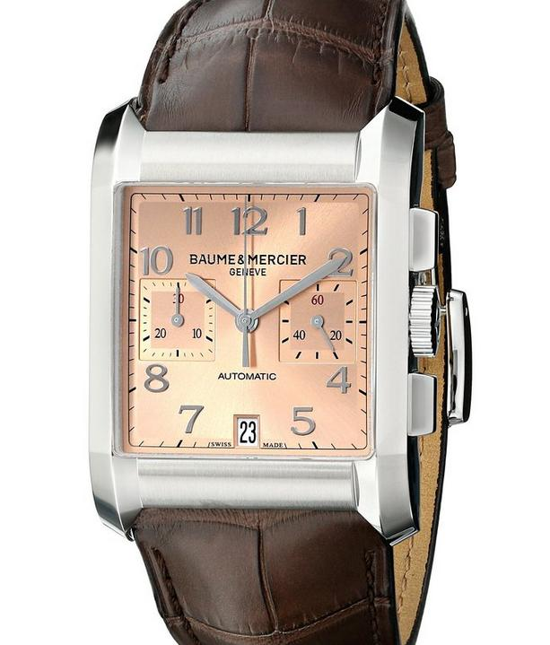 $950.39 Baume & Mercier Men's Swiss Automatic Brown Watch