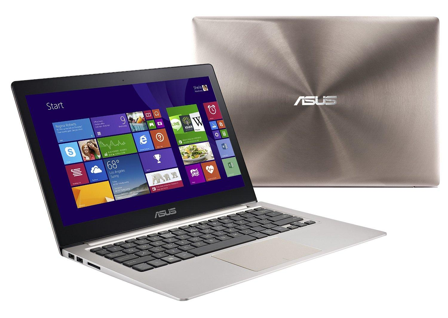 ASUS Zenbook UX303LB QHD 13.3 Inch Laptop (Intel Core i7, 12 GB, 512GB SSD, Smokey Brown) NVIDIA Discrete GPU GT940M