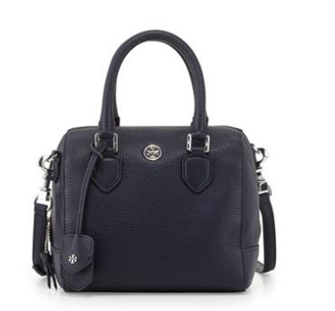 Tory Burch  Robinson Middy Mini Satchel Bag, Tory Navy @ Neiman Marcus