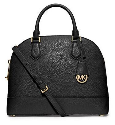 MICHAEL MICHAEL KORS Leather Large Dome Satchel @ Lord & Taylor