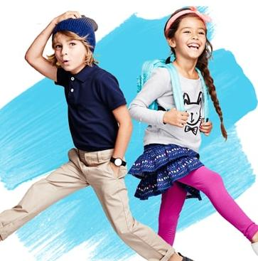 $10 Off $40  Kids' Clothing, Uniforms and Accessories Sale @ Target