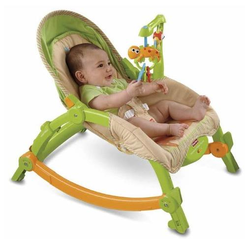 Fisher-Price Portable Rocker, Newborn-to-Toddler @ Amazon