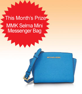 Subscribe to Dealmoon Newsletter, Win the MICHAEL Michael Kors Selma Mini Messenger Bag