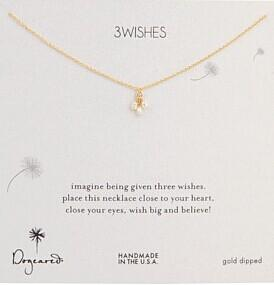 Dogeared 3 Wishes Pearl Necklace @ 6PM.com