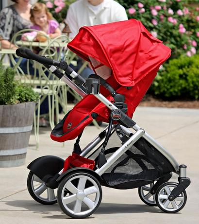 Britax B-Ready Stroller, Red