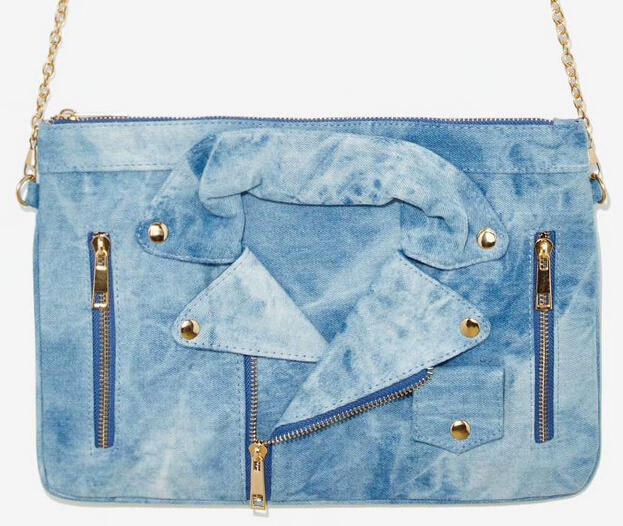 Moto Mama Denim Bag