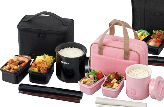 Tiger LWY-E046 Thermal Lunch Box, Black