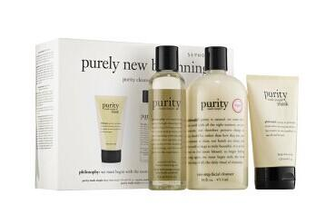 philosophy Purely New Beginnings Purity Cleansing Collection Trio @ Sephora.com