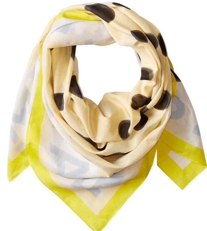 Marc by Marc Jacobs Women's Blurred Dot Scarf