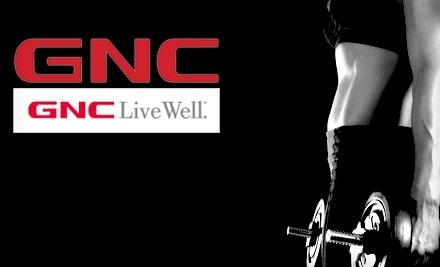 Spend $75 Get $15 Back @ GNC.com for Targeted American Express Card Holders