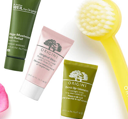 Pick Free 3 Mask Minis with $35 Origins purchase @ Origins