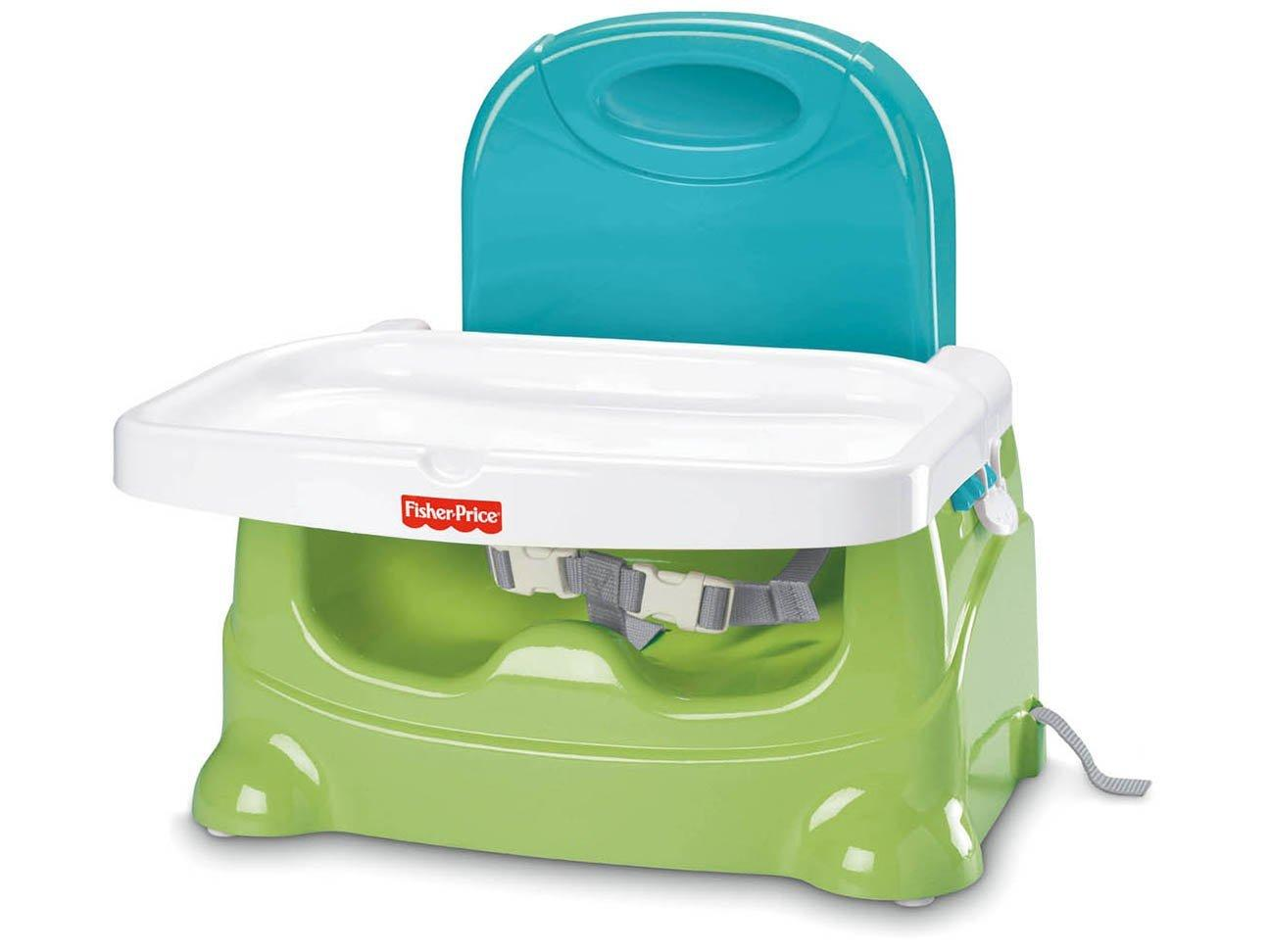 Fisher Price Healthy Care Booster - Green/Blue
