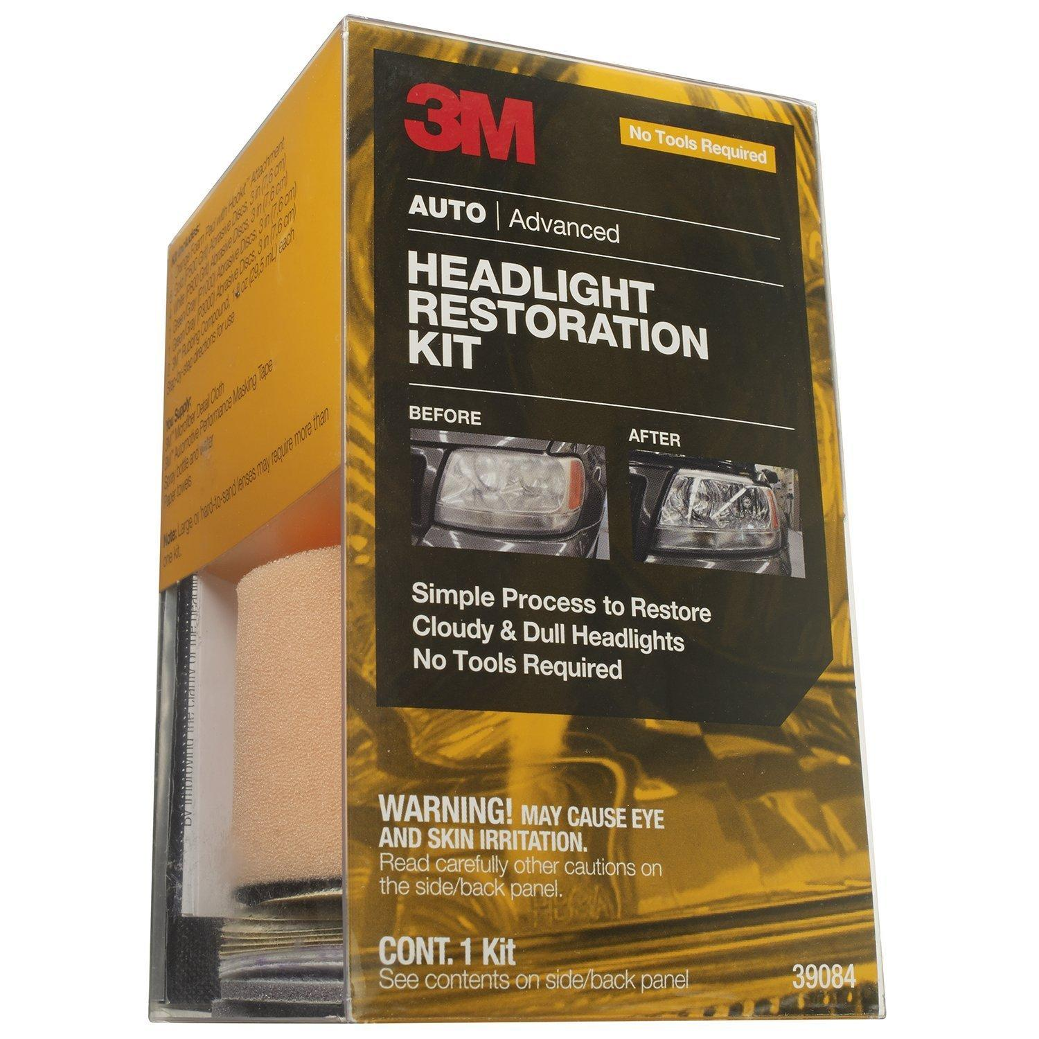 3M 39084 Headlight Restoration Kit