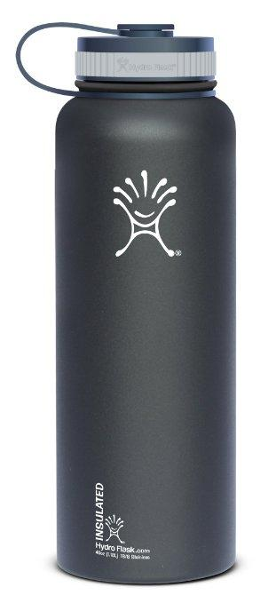 $19 Hydro Flask Insulated Stainless Steel Water Bottle, Wide Mouth, 40-Ounce