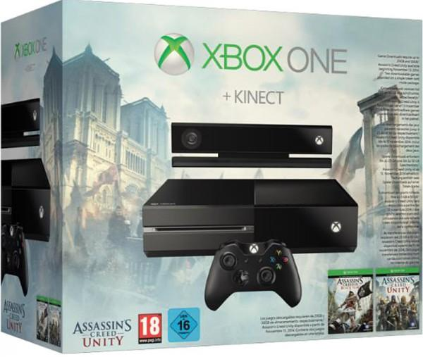 $349.00 Refurbished Xbox One with Kinect(Refurbished) +Assassin's Creed Unity + Free Game