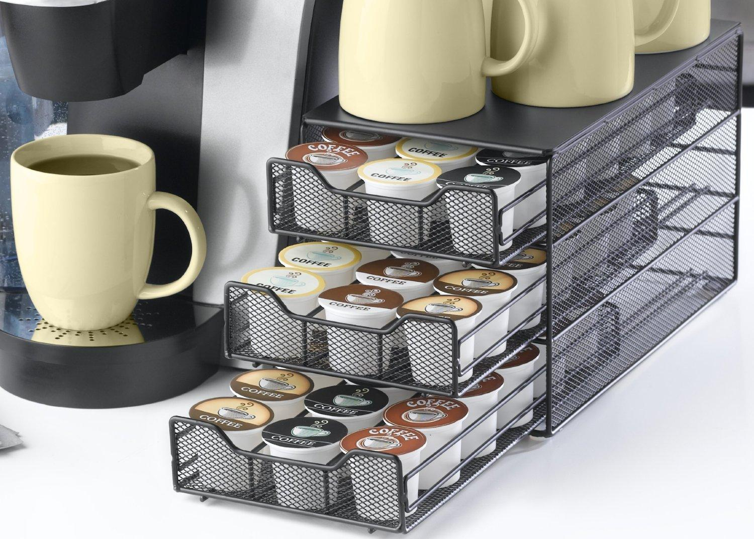 Keurig Brewed 3-tiered K-Cup Drawer-Holds 54 K-Cup Packs (Prime Members Only)