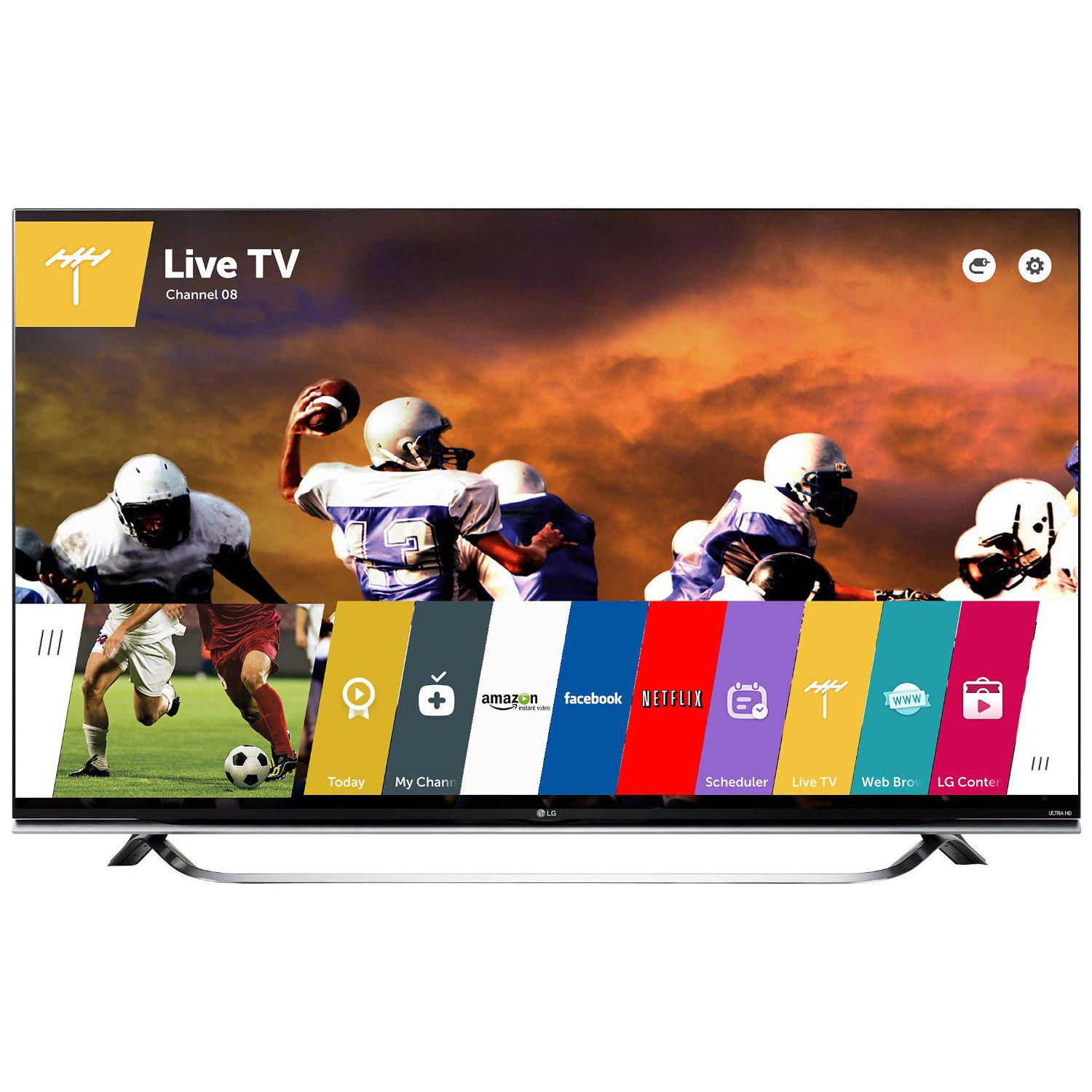 "LG 60"" 60UF8500 4K Ultra HD 3D Smart LED HDTV"