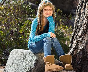 Extra 20% off Bearpaw Kids' Boots Sale @ Amazon.com