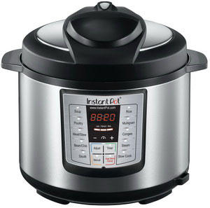 $79.00 Instant Pot IP-LUX60-ENW 6-in-1 Programmable Pressure Cooker, 6-Quart 1000-Watt