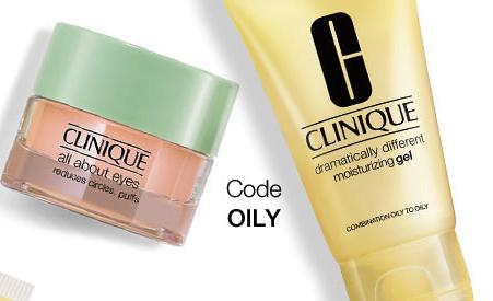 Free #1 moisturizer FREE + a FREE eye cream deluxe samples with any $35 purchase @ Clinique