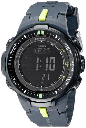 Casio Men's PRW-3000-2CR Protrek Triple Sensor Multi-Function Watch