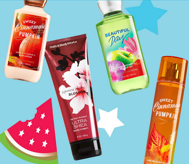 Buy 3 Get 3 Free Signature Body Care + $10 Off $30 or 20% Off @ Bath & Body Works