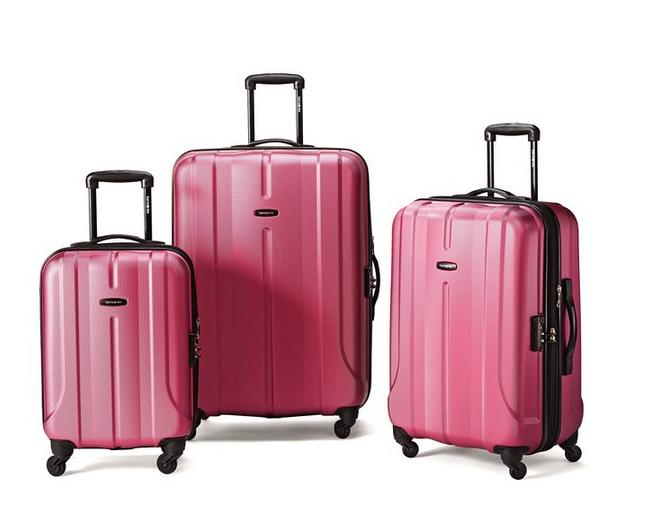 Samsonite Luggage Fiero HS 3 Piece Nested Set