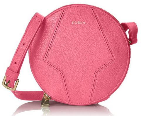 Furla Perla Mini Round Cross-Body Bag