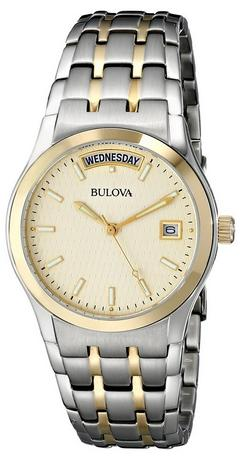 Bulova Men's 98C60 Two-Tone Bracelet Watch