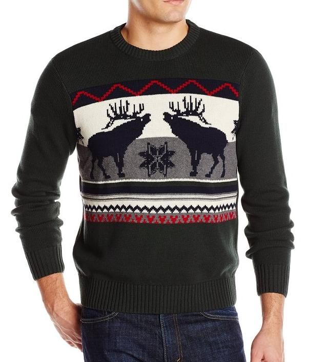 As low as $6 plus 20% off Dockers Mens Sweater