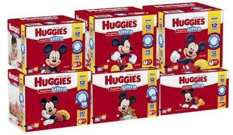 HUGGIES Snug & Dry ULTRA Diapers, Big Pack