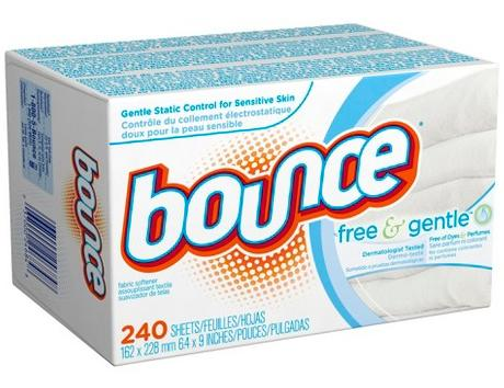 $19.98 + Free $5 Gift Card (2) Bounce Free Fabric Softener Sheets 240 ct