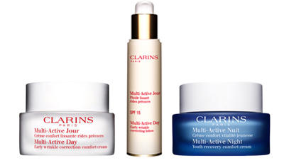 Up to 25% Off Clarins Multi-Active Collection