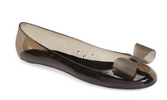 kate spade new york 'jove' jelly skimmer flat
