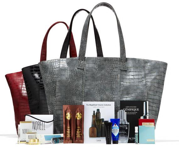 NM Exclusive tote + beauty samples with Beauty purchase of $125 or more @ Neiman Marcus