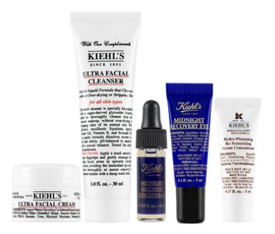 Free 5 Pc Gift with $95 Kiehl's Purchase + More Gift with $125 Purchase @ Neiman Marcus