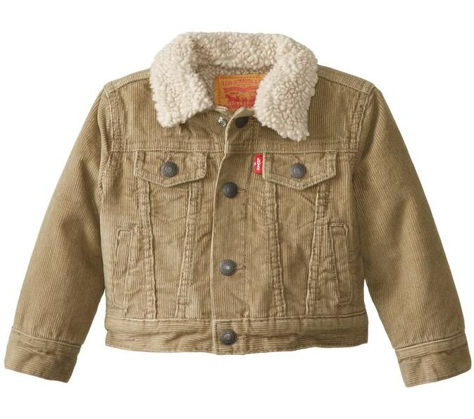 Levi's Baby Boys' My First Sherpa Trucker Jacket