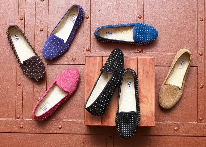 UGG Alloway Studded Women's Flats On Sale @ 6PM.com