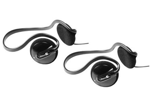 2-Pack of Able Planet PS200BHB Clear Harmony Behind the Head Stereo Headphones (Black)
