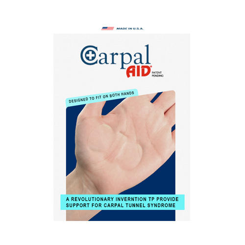 Carpal Aid, Functional Support for Carpal Tunnel Syndrome, 20 pieces