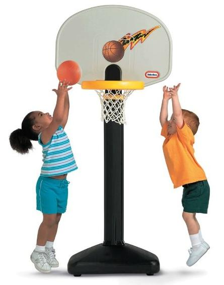 Little Tikes Adjust 'N Jam Basketball Set @ Amazon.com