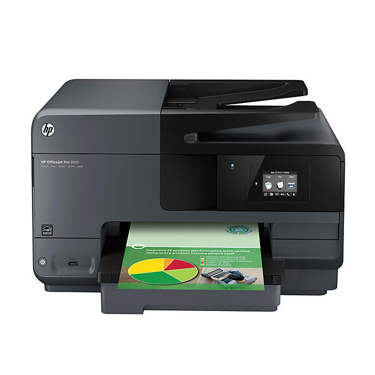 HP Officejet Pro 8610 e-All-in-One Printer, Scanner, Copier, Fax