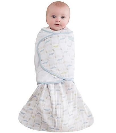 HALO Muslin Alligator SleepSack Swaddle