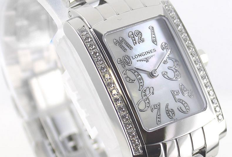 Longines Dolce Vita Mother of Pearl Diamond Ladies Watch L5.502.0.97.6