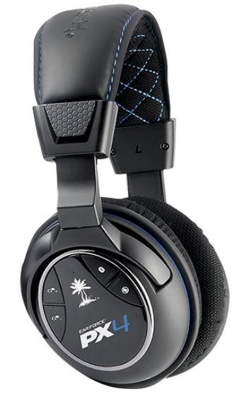Turtle Beach Ear Force PX4 Wireless Dolby Surround Sound Gaming Headset