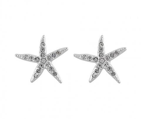 SWAROVSKI Holly Starfish Pierced Earrings