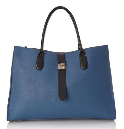 Furla Flair XL Zip-Turnlock Travel Tote