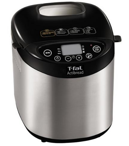 $79.99 T-fal PF311E ActiBread Programmable Automatic Bread Maker with LCD Display