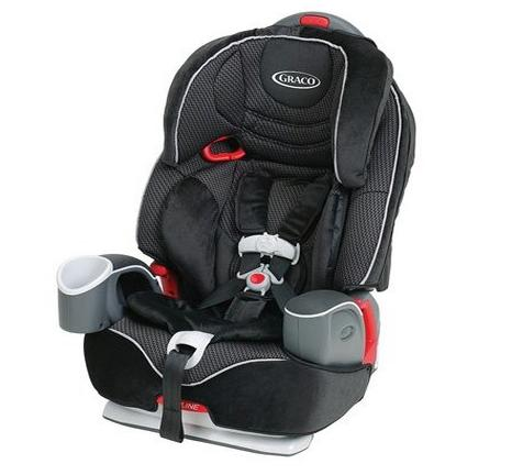 Graco Nautilus 3-in-1 Car Seat, Breakers