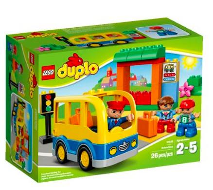 $9.99 LEGO DUPLO Town School Bus 10528 Building Toy